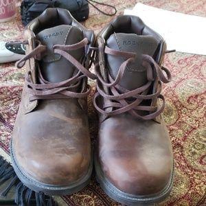 Rockport waterproof work boots